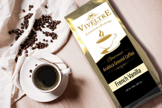 french vanilla gourmet flavored coffee
