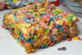 fruity pebble marshmallow bar
