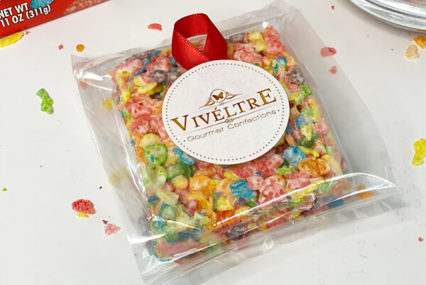 fruity pebble marshmallow gift